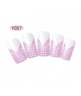 Stickers d'ongles water decals nail art Y057