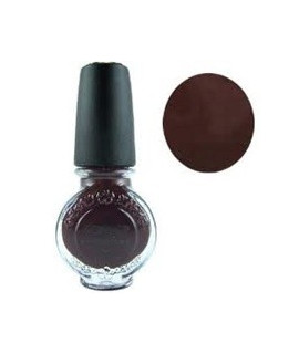 Vernis konad chocolat 11ml pour le stamping