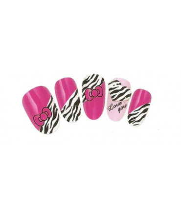 Stickers d'ongles water decals nail art K167