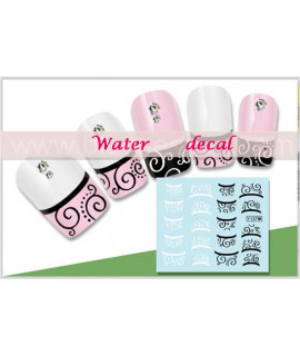 Stickers d'ongles water decals nail art y137