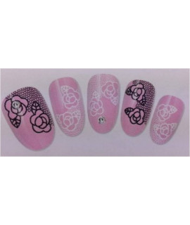 Stickers d'ongles water decals nail art S053