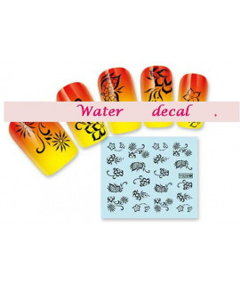 Stickers d'ongles water decals nail art Y026