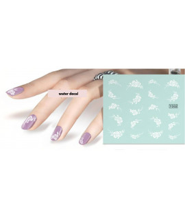 Stickers d'ongles water decals nail art Y002