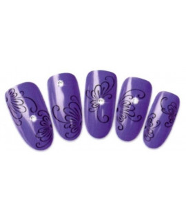 Stickers d'ongles water decals nail art T214