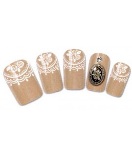 Stickers d'ongles water decals nail art Y110