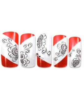 Stickers d'ongles water decals nail art Y015