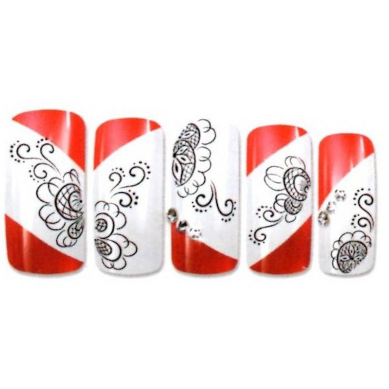 Pics Photos - Stickers Ongles Nail Water Decal Decorations Picture