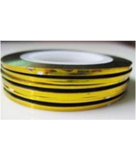Striping tape doré