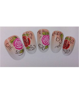 Stickers d'ongles water decals nail art