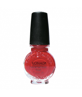 Vernis konad red pour le stamping