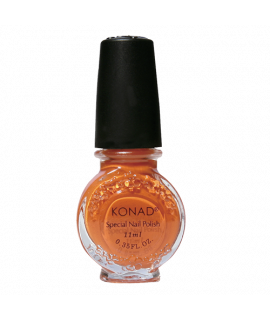 Vernis konad dark orange pour le stamping
