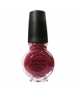 Vernis konad dark red 11ml  pour le stamping