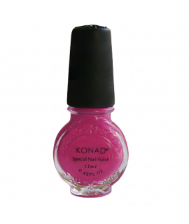 Vernis konad  magenta pour le stamping