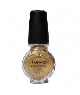 Vernis konad  gold  11ml pour le stamping