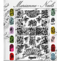 Nail art stamping plate Marianne Nails pro n°14