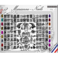 Nail art stamping Plate Marianne Nails XXL5