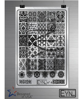 Plaque Eynails Damask n°4