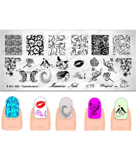 Plaque Marianne Nails n100